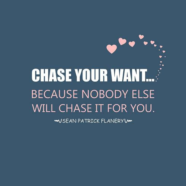 Chase Your Want... Poster