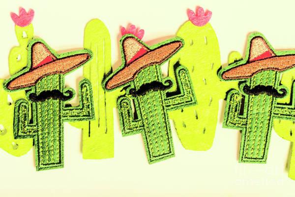 Chili Con Cacti Poster