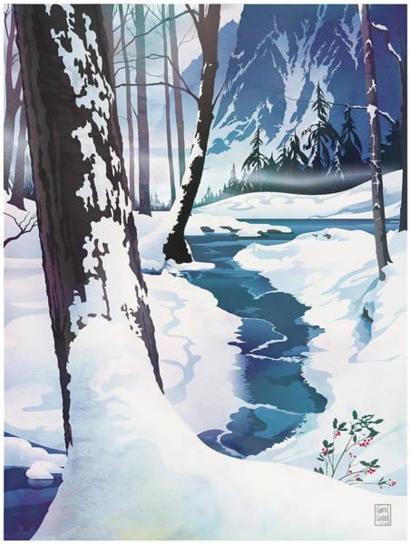 Morning At Christmas Creek Poster