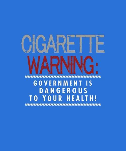Cigarette Warning Poster