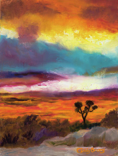 Cindy Beuoy - Arizona Sunset Poster