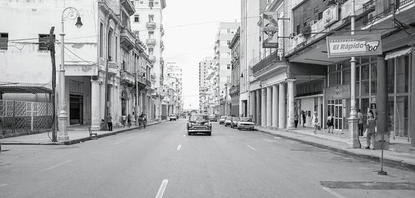 City Street, Havana Poster