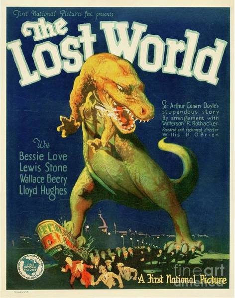 Classic Movie Poster - The Lost World Poster