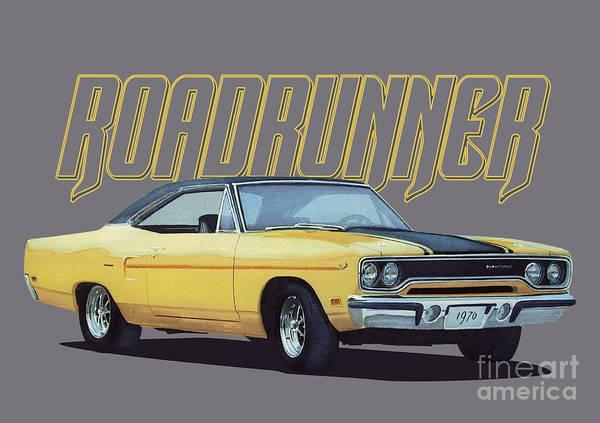 Classic Roadrunner Poster