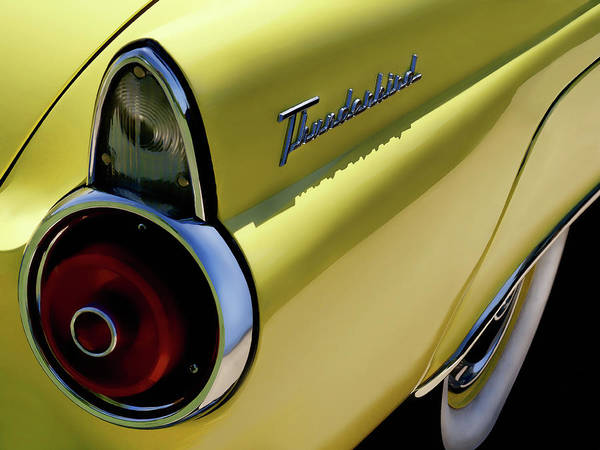 1955 Thunderbird Poster