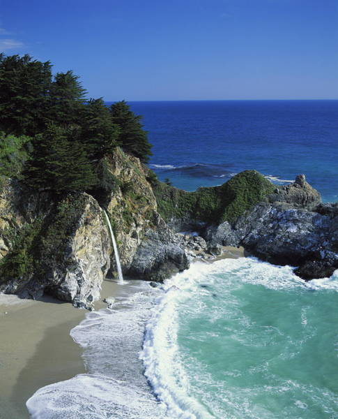 Coastline, Big Sur, California, Usa Poster