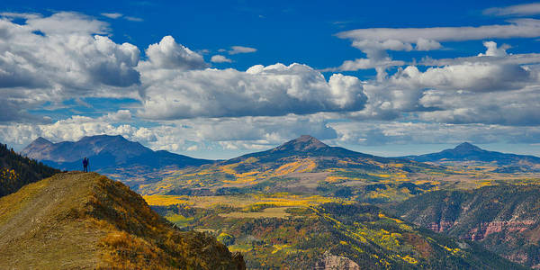 Poster featuring the photograph Colorado Fall by Tom Gresham