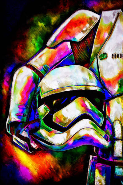 Colorful Stormtrooper Poster