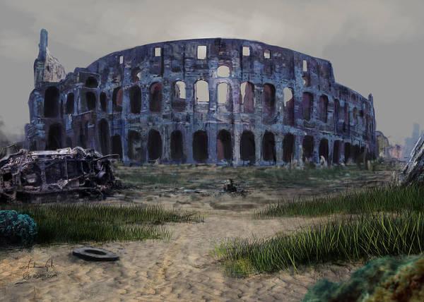 Colosseum Seafloor Poster