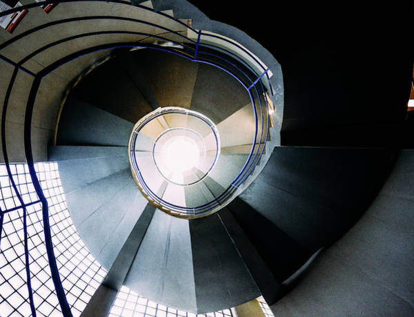 Convoluted Staircase  Poster