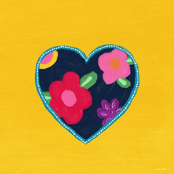 Corazon 5- Art By Linda Woods Poster