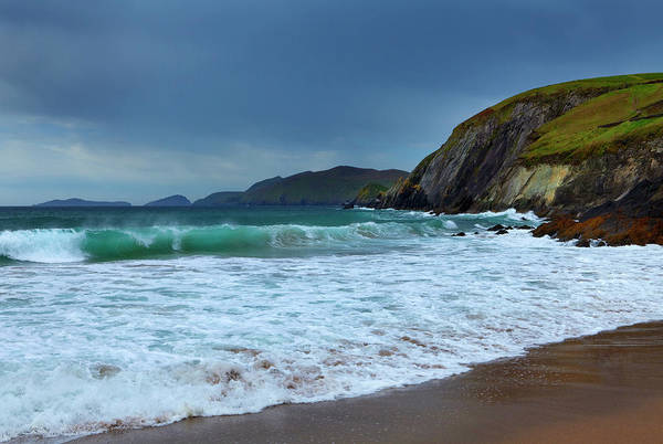 Coumeenoole Beach At Slea Head, Dingle Poster