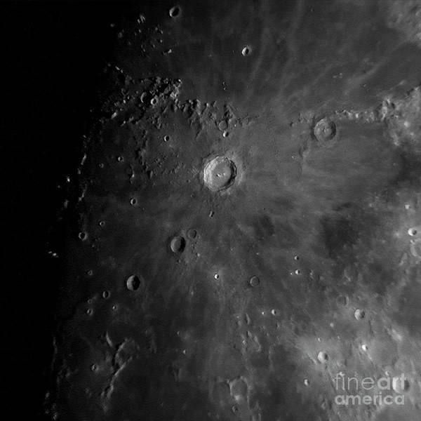 Crater Copernicus Poster