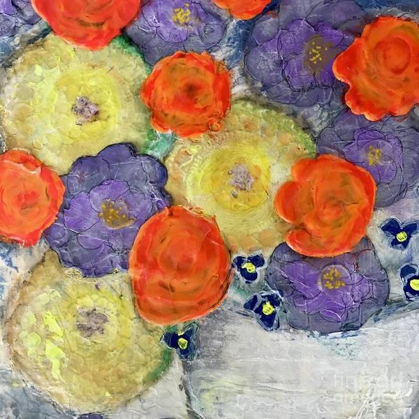 Crochet Bouquet Poster