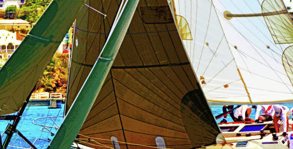 Crossing Sails Poster