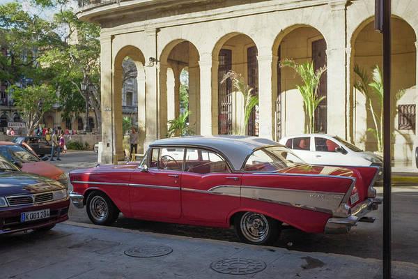 Cuban Chevy Bel Air Poster