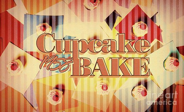 Cupcake Bake 1958 Poster