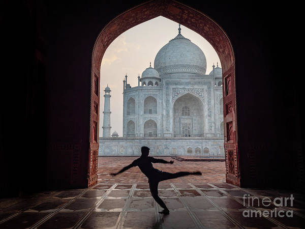 Dancer At The Taj Poster