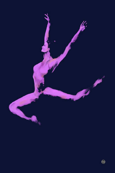 Dancer In The Dark Blue Poster