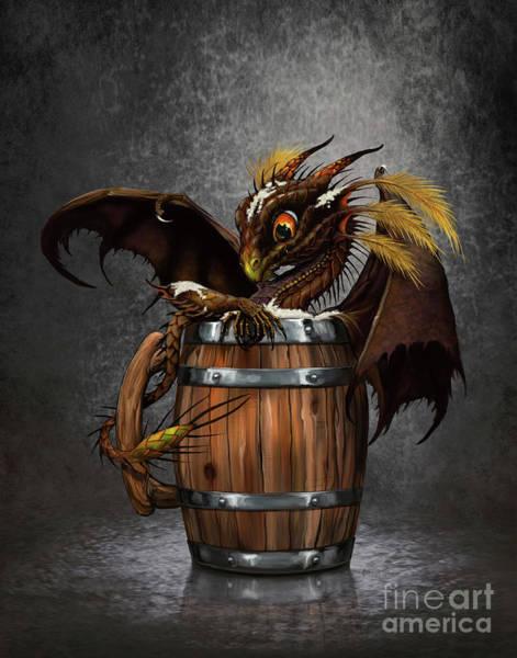Dark Beer Dragon Poster