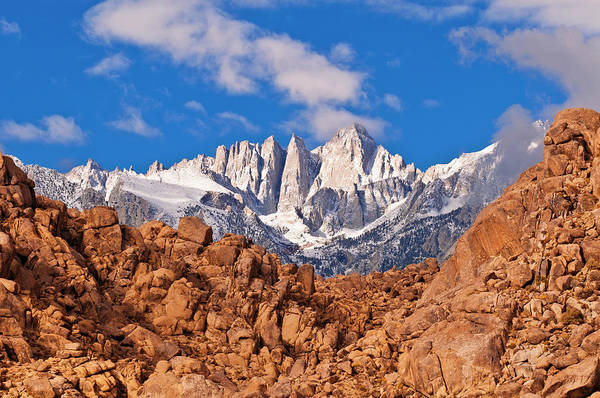 Dawn On Mount Whitney From The Alabama Poster