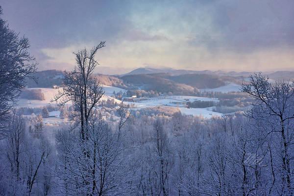 Deer Valley Winter View Poster