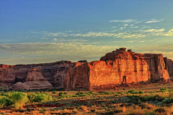 Desert Sunrise In Color Poster