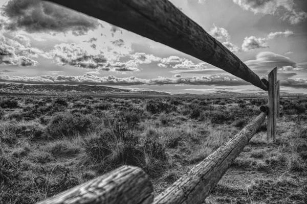Poster featuring the photograph Devil's Gate Fence by Chance Kafka