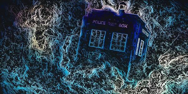 Doctor Who Tardis 3 Poster