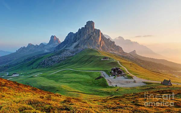 Dolomites Landscape Poster