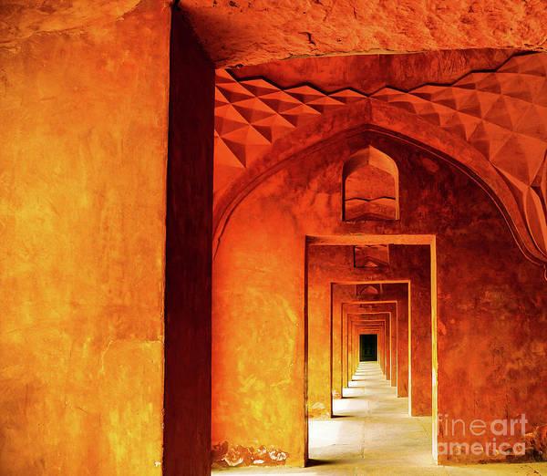 Doors Of India - Taj Mahal Poster