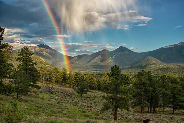 Poster featuring the photograph Double Rainbow by Darlene Bushue