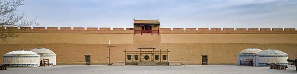 Drill Field Guan City Jiayuguan Gansu China Poster