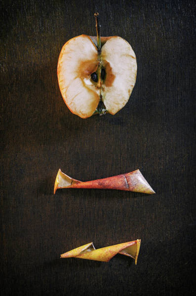 Drying Apple Poster
