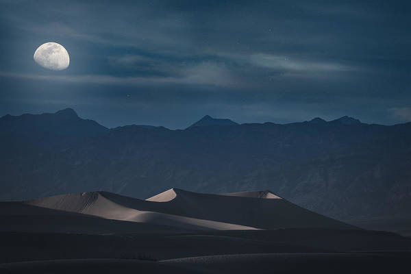 Dunes Of The Death Valley Poster
