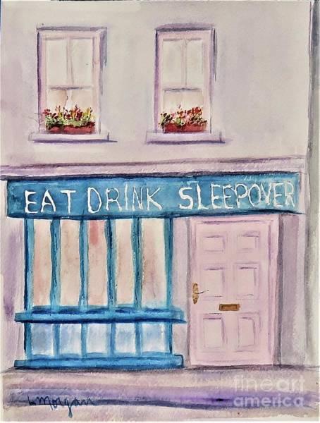 Eat Drink Sleepover Poster