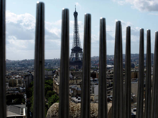 Eiffel Tower, Distant Poster