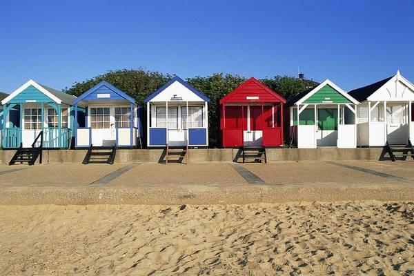 England,suffolk,southwold,beach Huts Poster