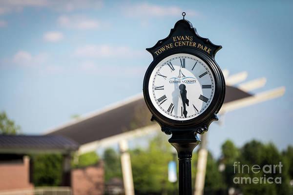 Evans Towne Center Park Clock - Evans Ga Poster
