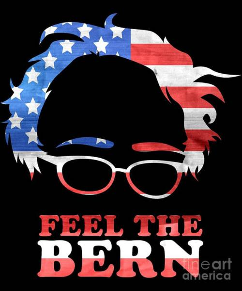 Feel The Bern Patriotic Poster