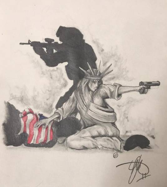 Fighting For Liberty  Poster