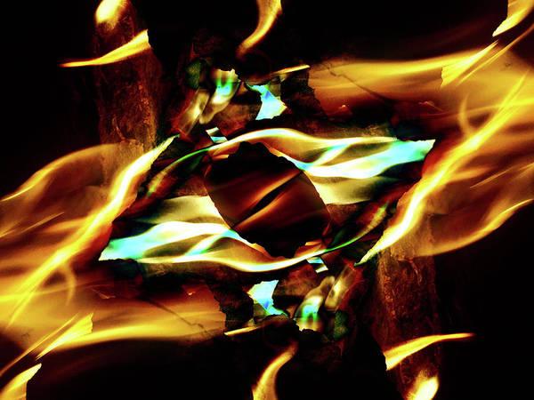 Fire Eye Poster