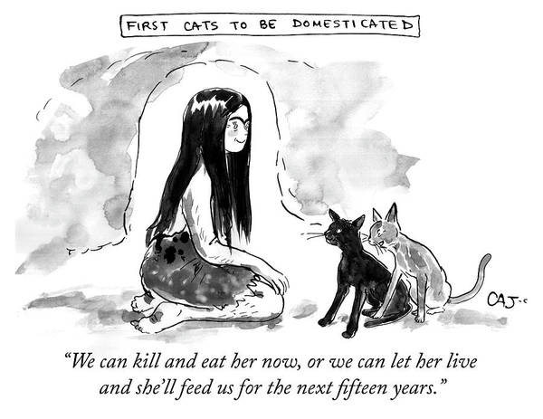 First Cats To Be Domesticated Poster