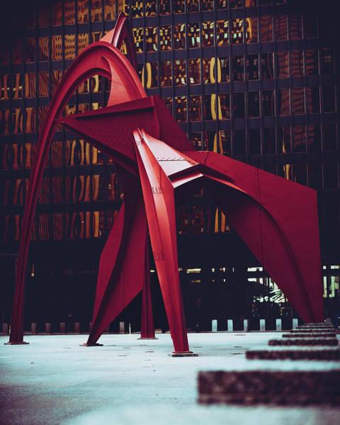 Flamingo A La Plancha Poster
