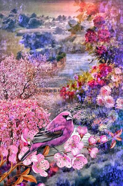 Floral Embedded Poster