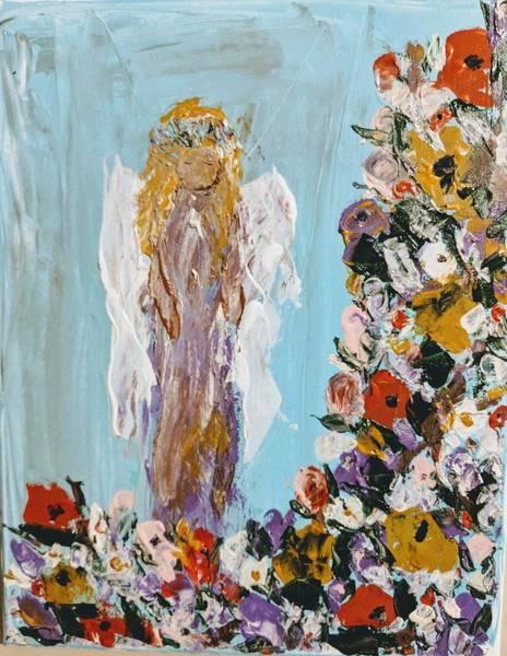 Flower Child Angel Poster