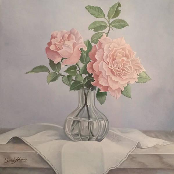 Flowers Vase Poster