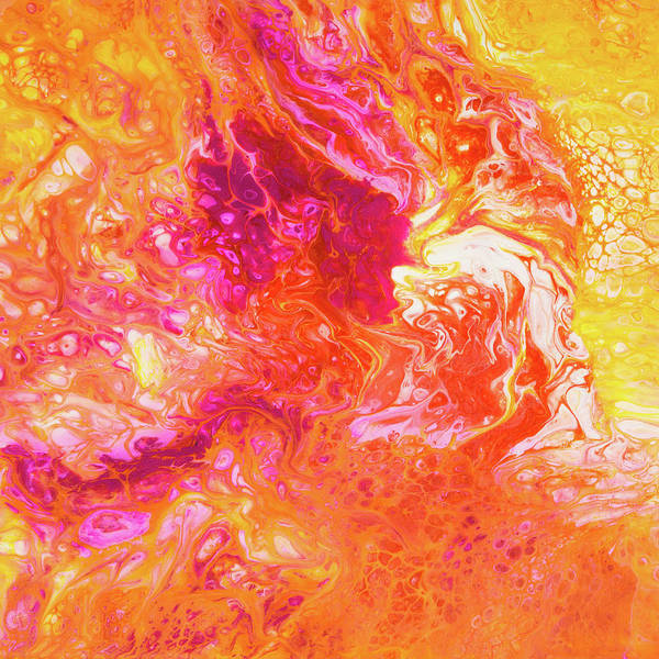 Fluid Hibiscus Poster