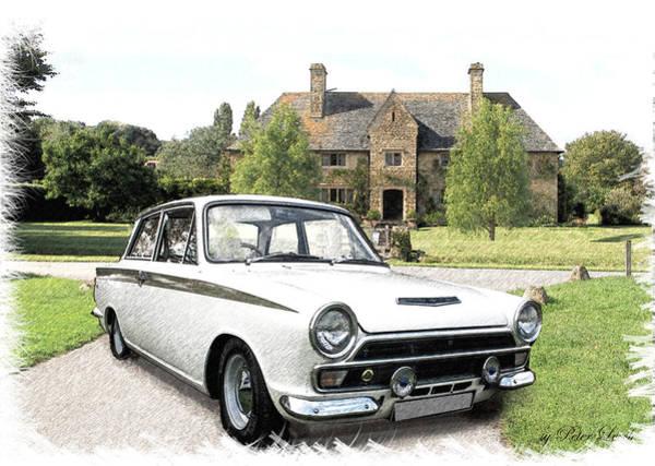Ford 'lotus' Cortina Poster