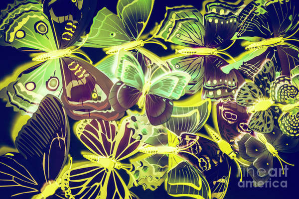 Forest Flutters Poster